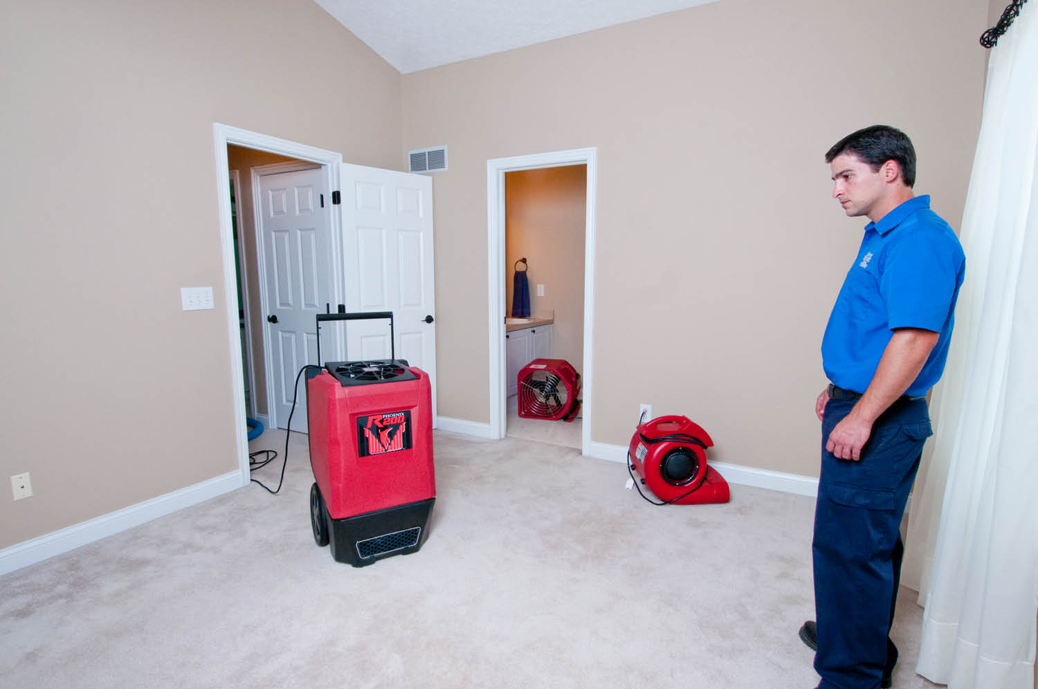 Water Damage Services : Water removal service super plumbing heating and